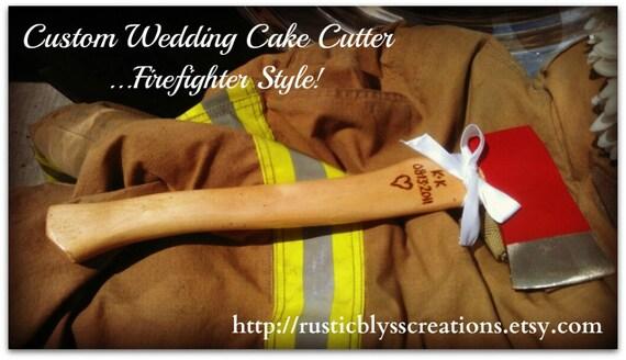 The Original Personalized Custom Fire Axe Cake Cutter