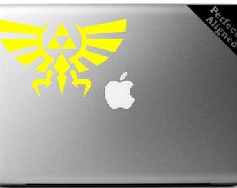 Vinyl Decal - Zelda Inspired Triforce decal for macbook, laptop, etc...
