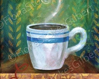 Cafe Espresso 8x10 art Print