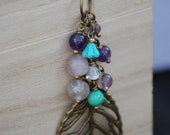 A Leaf Away From Happiness Necklace