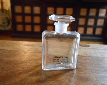 Chanel Perfume Bottle Mid-Mid Sized