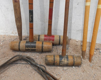 Crusty Dusty Partial Desert Croquet Set