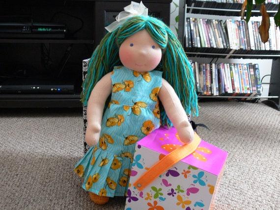 "Waldorf  baby doll ""19 tall"