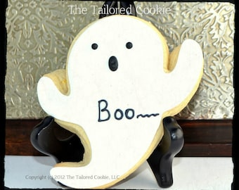 Boo Cookie Favors by The Tailored Cookie