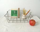 Cool Vintage Wire Storage Basket