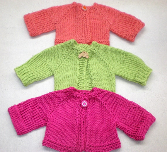 """Sweater for Waldorf doll 12""""  reserve for Susannah"""