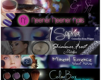 Custom Etsy Shop Banner and Avatar Package Set OOAK - (Or Facebook Timeline Banner) Custom Design, Branding, Marketing, Advertising
