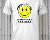 Grandpa Shirt Grandma Shirt Uncle Shirt Auntie Shirt Personalized For You Small Medium Large Xlarge