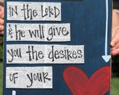 Delight in the Lord handmade card