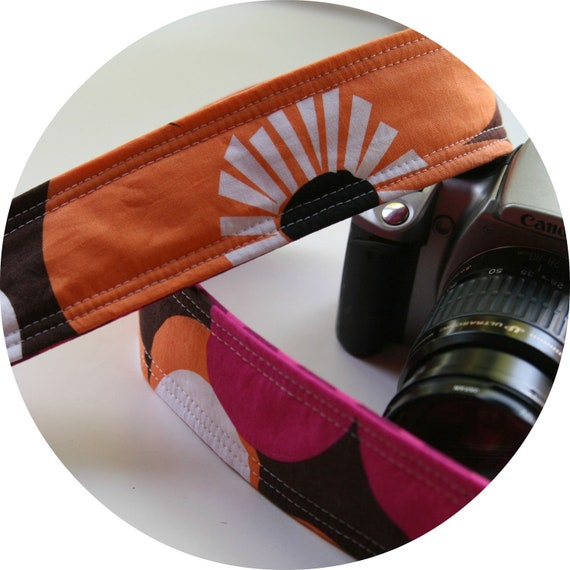 Woodland Delight -  Simple Camera Strap DSLR SLR