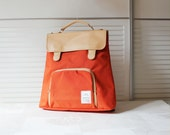 Colorful small backpack (Orange)