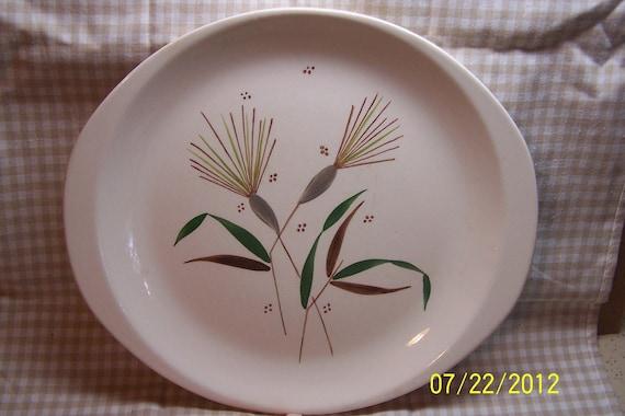 Stetson Handpainted Dinner or Cake Plate