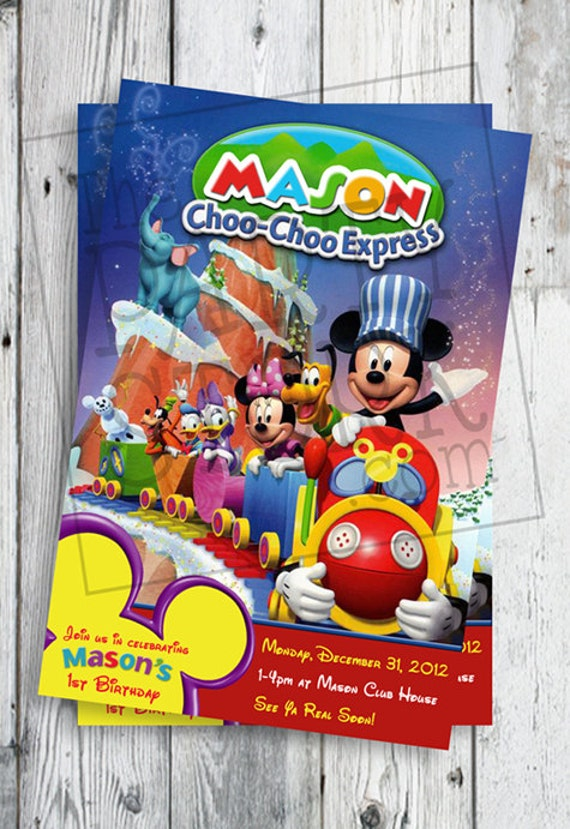 Mickey Mouse Expression Mickey Mouse Choo Choo Express