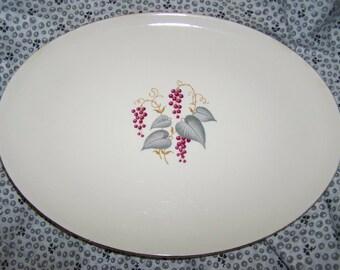 Shabby Platter Grapes Platter Serving Platter