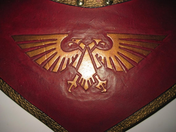 Leather Armor Warhammer Imperial Gorget