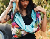 Reversible Bright Infinity Scarf