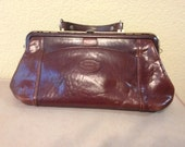 Vintage Leather Oroton Purse - Made in Australia