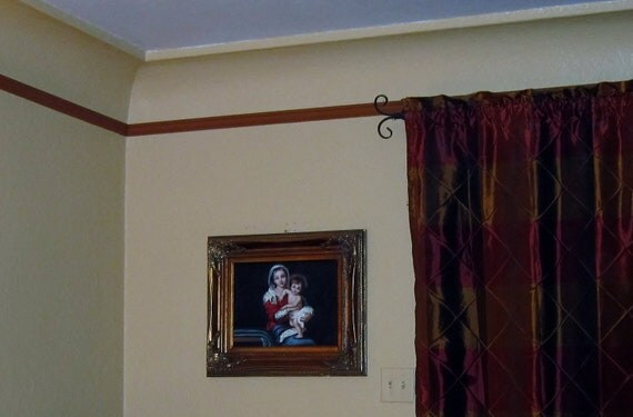 Madonna and Child Oil on Canvas Painting - Museum Quality Frame Mother Mary Baby Jesus