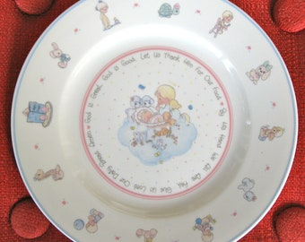 Precious Moments Plate -Vintage 1991 by Enesco - Artwork by Samuel J Butcher