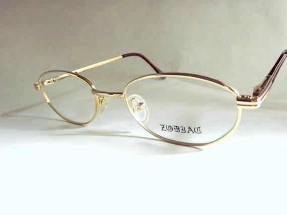Gold Metal Eyeglass Frames : Eyeglasses Womens Gold Metal Eyeglass Frames Oval Small