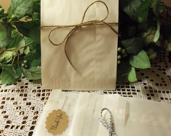 "Glassine Bags, Wax Bags, 100 Glassine / Wax Bags, 5.5"" x 7.75"", flat bags for photos, gifts, treats, etc."
