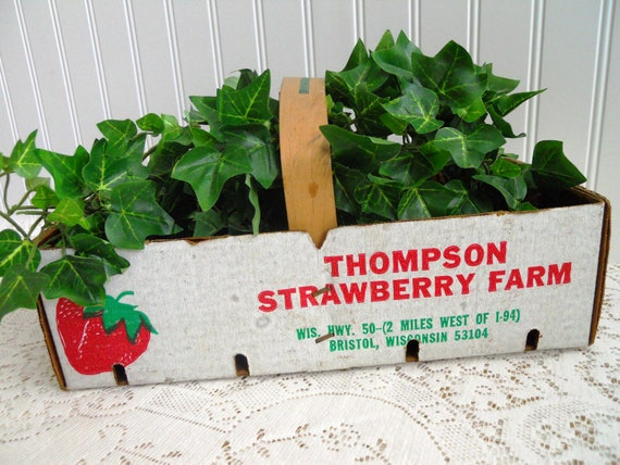 Reserved for Marjorie      Fabulous Strawberry Basket.Thompsons Farm.