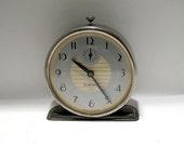 Vintage Alarm Clock - Westclox - Silver Bell Model - Retro - Windup Alarm Clock - Made in Canada - Retro