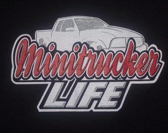 Minitrucker  Truck Life  T-shirt