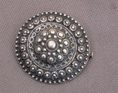 Vintage steampunk Brooch-Silver Brooch-Vintage Pin-antique silver brooch-Silver Pin-Antique Pin