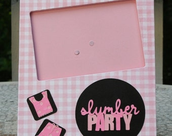 Slumber Party picture frame