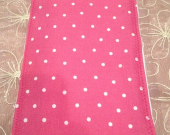 NEW ITEM GIRLY Baby Girl Burp Cloth Boutique Style 6-ply Pink Polka Dots Damask Paisley Set Girly