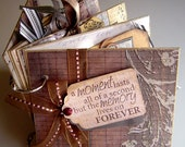 Photo Album made from Chipboard, Designed to Showcase Special Memories