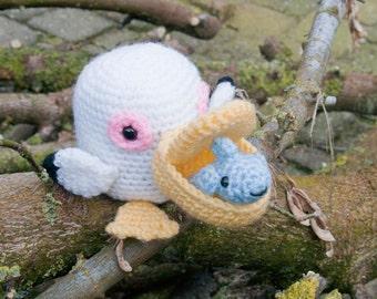 Amigurumi Pelican & Guppy - Crochet Pattern