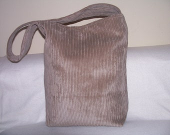 2- tote,bag,purse,color beige, handmade