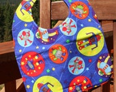 TODDLER BIB: Aliens Have Landed, Personalization Available