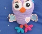 Hootell's the Owl - Crochet Owl