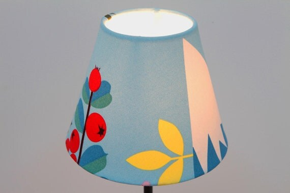 Small Lampshade Blue - SALE