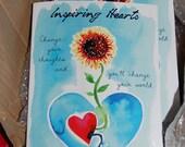 Inspiring Hearts - a little book of hearts