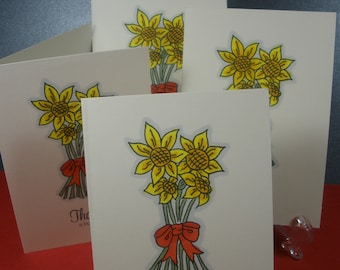 Sunflower Thank You Card Set