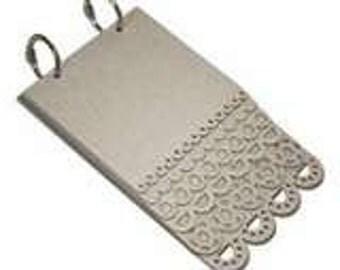 Maya Road Chipboard 2 Ring Scallop Layer Book