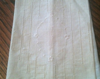 Antique Small Linen Handkerchief