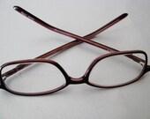 Vintage Uptown CE Eyeglasses - Prescription Eyeglasses - Wine Brown Eyeglasses