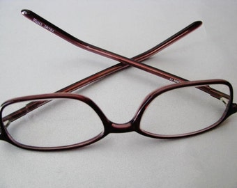 Vintage Uptown CE Eyeglasses - Prescription Eyeglasses - Wine Brown Eyeglasses