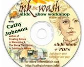 Cathy Johnson's Ink & Wash Workshop CD