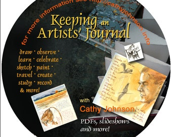 Cathy Johnson's Keeping an Artist's Journal CD