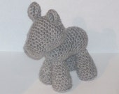 PATTERN: Pony Mare Crochet Plush