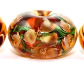 Lampwork Glass Beads by Beadscrumptious. Lampwork Beads. Jungle Fever.