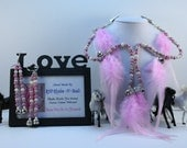 Pretty In Pink, Rhythm Bead Mane and Bridle Clips Set