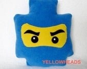 Lego Ninjago Minifigure Pillow