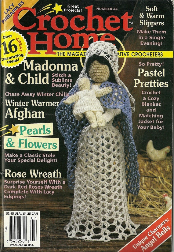 44 Crochet Home Magazine Crochet Patterns Christmas Issue